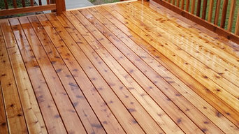 Deck in the country.