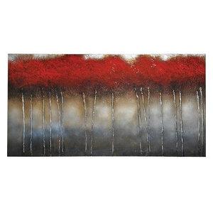 Crimson Forest Wall Art