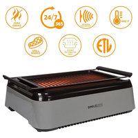 Simple Living Products Indoor Smokeless Grill - Advanced Infrared Technology
