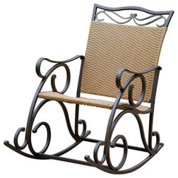 Mediterranean Outdoor Rocking Chairs by International Caravan