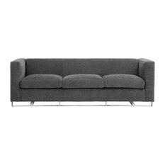 Avenlea 91-inch Fabric Sofa Gray