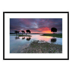 """""""The Blessing Of The Sun"""" Framed Digital Print by Rui David, 38""""x28"""""""