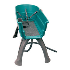Booster Bath Elevated Pet Bathing Tub Large, Teal