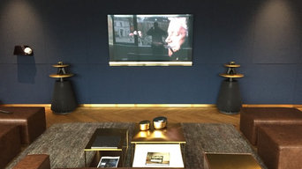 Bang & Olufsen home theaters and WiFi entertainment A/V systems.