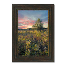 """Burning Dawn "" Framed Photograph Print In Acrylic Finish"