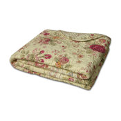 Greenland Antique Rose Throw Accessory