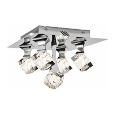 Elan Rockne 5-Light Flush Mount LED Ceiling Light