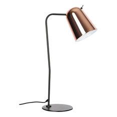 Dobi Table Lamp, Copper, Black