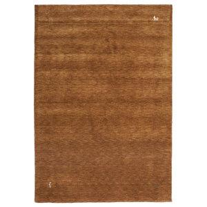 Gabbeh Wool Rug, Terracotta, 160x230 cm