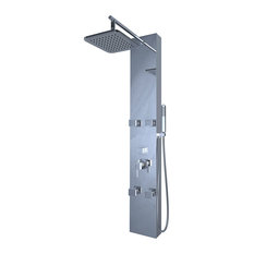 Otis Shower Panel with Handshower and Four Body Jets, Chrome