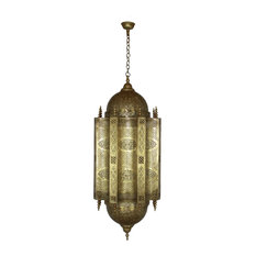 Finest Badia Design Inc Large Moroccan Hand Punched Brass Chandelier  Chandeliers With Moroccan Chandelier.