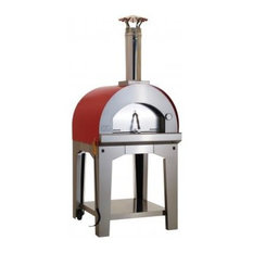 Large Pizza Oven and Cart