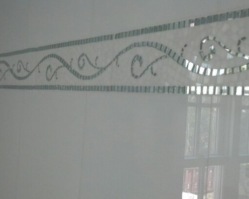 White Mirror Thassos Pattern - Wall And Floor Tile