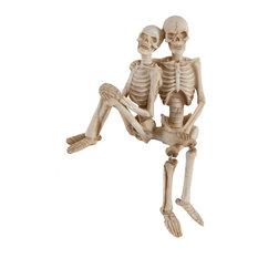 Polyresin Skeleton Set Side By Side