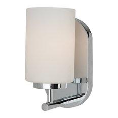 Bathroom Vanity Tube Lights fluorescent tube bathroom vanity lights | houzz