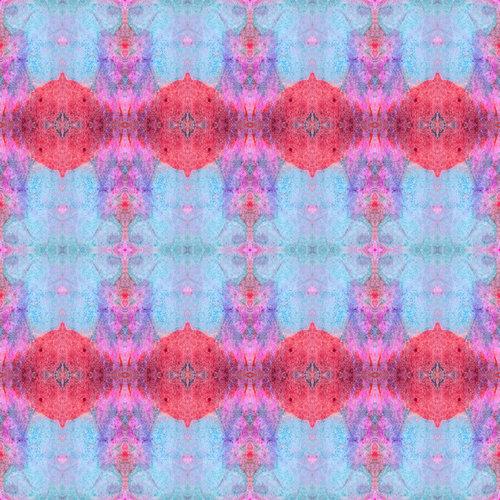 "Sharon Holmin Interiors - Drums and Parasols Peel and Stick Wallpaper, 12""x12"" Samples - Wallpaper"