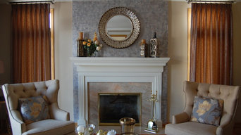 Accent wall Drama