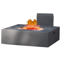 Contemporary Fire Pits by GDFStudio