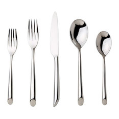 nambe nambe flatware frond 5 piece place set flatware and silverware sets