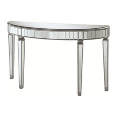 Coaster Console Table in Silver Finish 950183