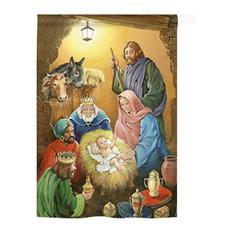 Nativity Wise Men 2-Sided Vertical Impression House Flag
