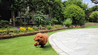 大和市 S様邸 愛犬が思いっきり遊べるお庭 リフォーム外構