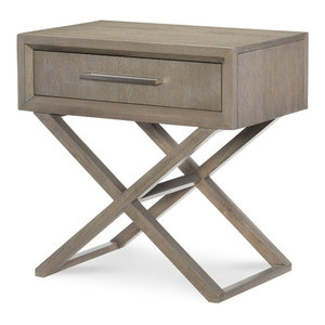 Rachael Ray Home Highline Bedside Chest, Greige