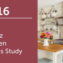 2016 U.S. Houzz Kitchen Trends Study