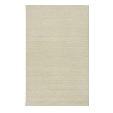 Rizzy Home Solid White Wool Rug 8 X10 Country Ct1357