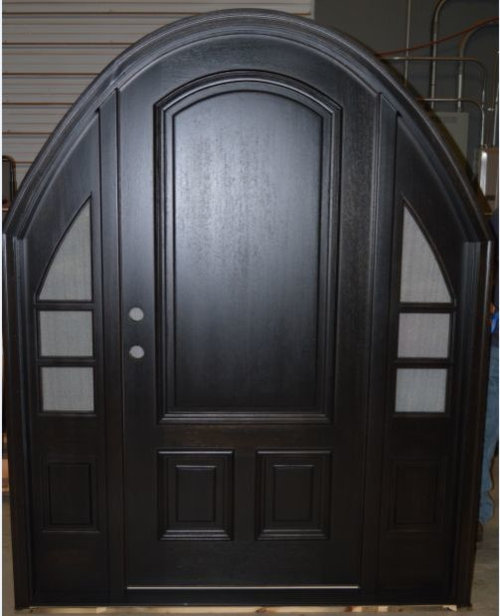 Arch Top Mahogany Doors