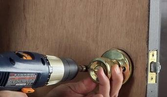 Change a door lock