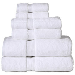 Traditional Bath Towels by Blue Nile Mills Inc.