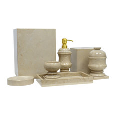 50 Most Popular Stone Bathroom Accessory Sets For 2021 Houzz
