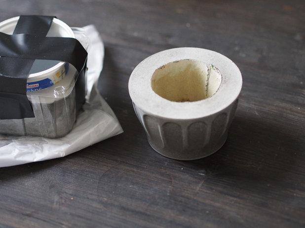 diy anleitung beton schale selbermachen. Black Bedroom Furniture Sets. Home Design Ideas