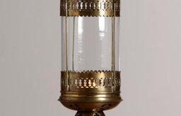 Luce Clear Hanging Lantern Candleholder