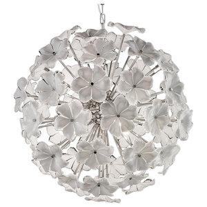 Lotus Murano Glass Chandelier