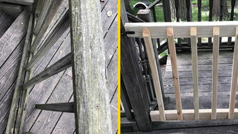 Outdoor fence repair