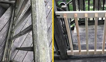 Outdoor fence repair