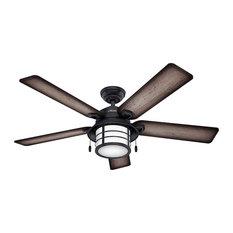 Hunter 59135 54``Ceiling Fan Key Biscayne Weathered Zinc
