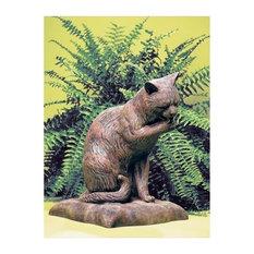 Shop Queenie Cat Garden Statue on Houzz