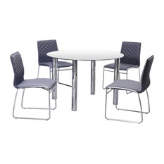 Duncan Dining Collection White Dining Set