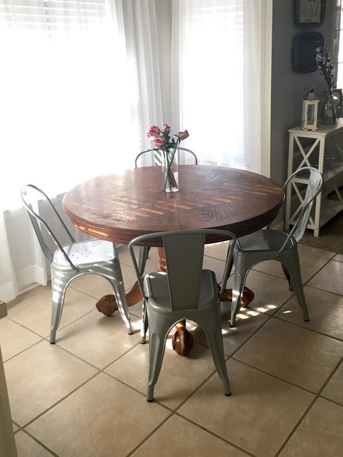 Revamping An Old Dining Table