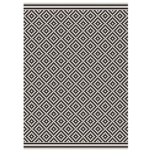 Mya Diamond Rug, Charcoal, 200x290 cm
