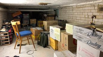 Hawthorn Project - Cellar rack
