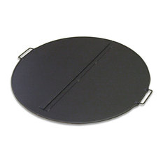 Folding Fire Pit Snuffer Cover, Round 44""