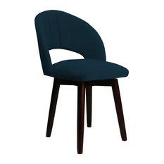 Franco Dining Chair - Blue Velvet