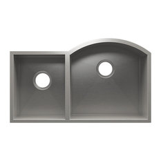 """Vintage Undermount Sink With Double Bowl, Stainless Steel 32.5""""x19.5""""x10"""""""