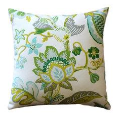 Pillow Decor Ltd.   Pillow Decor   St. Thomas Lime Outdoor Throw Pillow  20x20