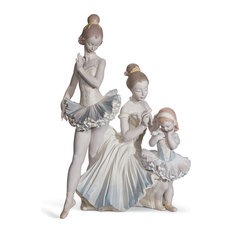 Lladro Love For Ballet Figurine