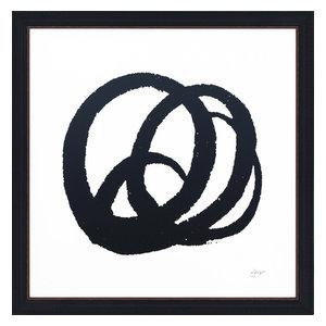"""Kinetic"" Framed Print, 65x65 cm, ""Intricate Kinetic"""